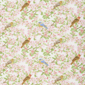 Apple Festival - Bloom and Birds Cream Yardage