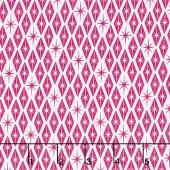 Palm Canyon - Diamonds Pink Yardage