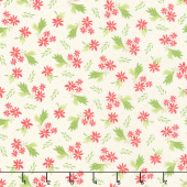Summer Sweet - Bouquet Ivory Yardage