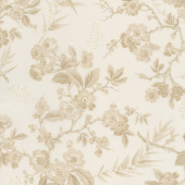 Little Sweetheart - Bouquet Clotted Cream Yardage