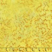 Malam Batiks V - Dahlia Yellow Green Yardage