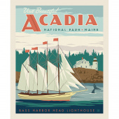 National Parks - National Park Acadia Panel