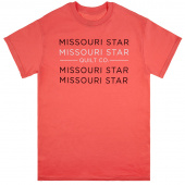 Missouri Star Coral T-Shirt - Large