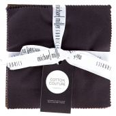 Cotton Couture Charcoal Charm Pack