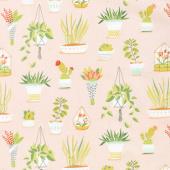 Flower Shop - Pretty Plants Blossom Yardage