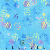 Octopus Garden - Circles Water Digitally Printed Yardage