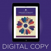 Digital Download - Dresden Sunburst Quilt Pattern by Missouri Star