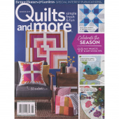 Better Homes & Gardens Quilts and More Winter 2019