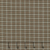 Shadows and Sunshine - Plaid Blue Brown Yardage