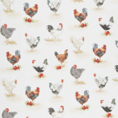 Down on the Farm - Chickens Country Yardage