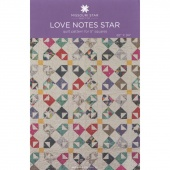 Love Notes Star Quilt Pattern by Missouri Star