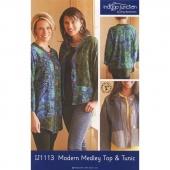 Modern Medley Top & Tunic Pattern