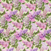 Chelsea - Lilacs Pale Green Yardage
