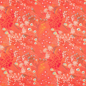 Legendary - Meadow Boho Orange Yardage