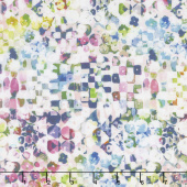 Fleur Couture - Sequins Crystal Digitally Printed Yardage