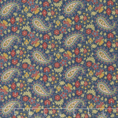 Baltimore House - Paisley Blue Yardage