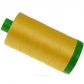 Aurifil 40 WT 100% Cotton Mako Large Spool Thread - Pale Yellow