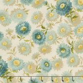 Sequoia - Daisies Granite Yardage
