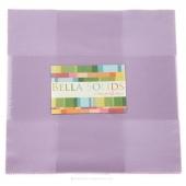 Bella Solids Lilac Junior Layer Cake by Moda