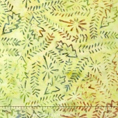 Tonga Batiks - Autumn Nature Hike Moss Yardage
