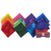 Laurel Burch Basics Prism Metallic Fat Quarter Bundle