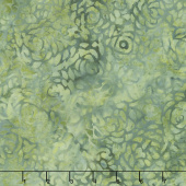 "108"" Wide Back Batik - Abstract Rose Pine Backing"