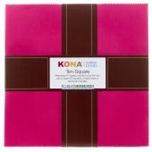 Kona Cotton - Classic Palette Ten Squares