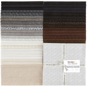 "Woolies Flannel Neutrals Vol. 2 10"" Squares"