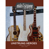 Unstrung Heroes Appliqué Quilt Pattern from Man Sewing
