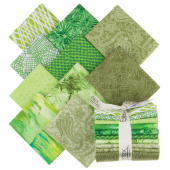 Color Spectrum Favorites Green Fat Quarter Bundle