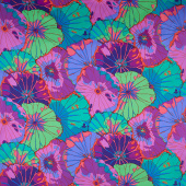 "Kaffe Fassett - Lotus Leaf Purple 108"" Wide Backing"