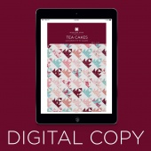 Digital Download - Tea Cakes Quilt Pattern by Missouri Star