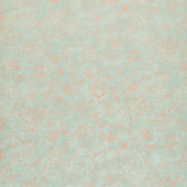 Lilac & Sage - Toile Green Copper Pearl Metallic Yardage