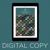 Digital Download - Disappearing Hourglass Crazy Eight Quilt Pattern by Missouri Star