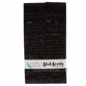 Black Beauty Batiks Strips