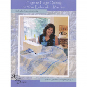 Edge-to-Edge Quilting on Your Embroidery Machine Book with CD