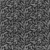Juniper - Sprigs Gray Metallic Yardage
