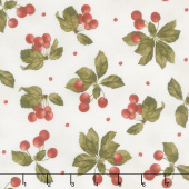 A Fruitful Life - Cherries Cream Yardage