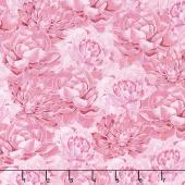Botanical Oasis - Succulents Pink Yardage