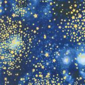 Stargazers - Stars Stratosphere Metallic Yardage