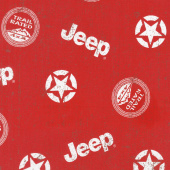Jeep in the Wild - Jeep Toss Red Yardage