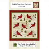 Winterberry Cardinals Pattern