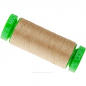 Aurifil 40 WT 100% Cotton Mako Spool Thread - Beige