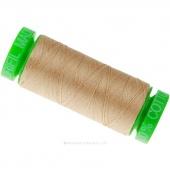 Aurifil 40 WT 100% Cotton Mako Spool Thread - Beige