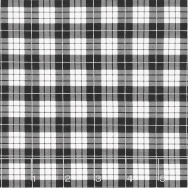 Wild at Heart - Plaid Black Yardage
