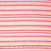 Minny Muu - Banner Stripe Pink Yardage