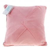 Easy as 1-2-3 Embroidery Pillow - Pink