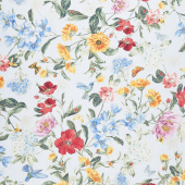 Field of Dreams - Wild Flower Dreams Light Blue Yardage