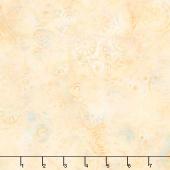 Desert Sun Batiks - Beads Custard Yardage