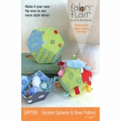 Fabriflair Faceted Spheres & Bowl Pattern